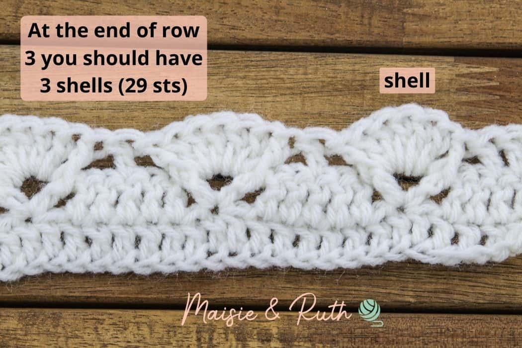 Row 3 end