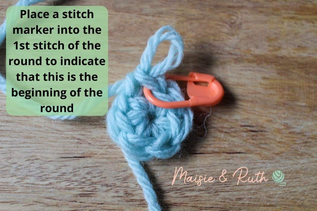 Crochet in the round Continuous Rounds 2
