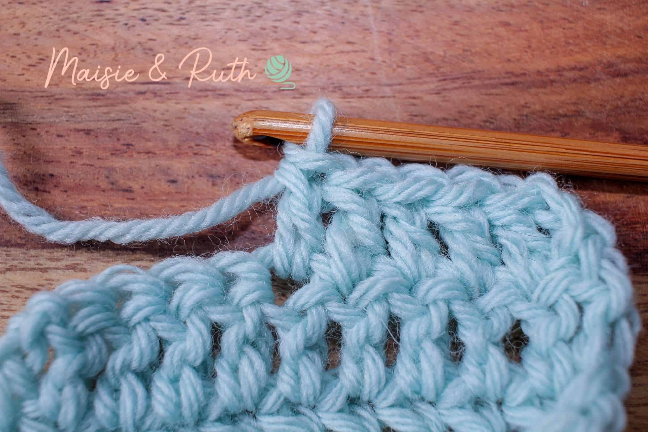 Crochet Increase Step 1