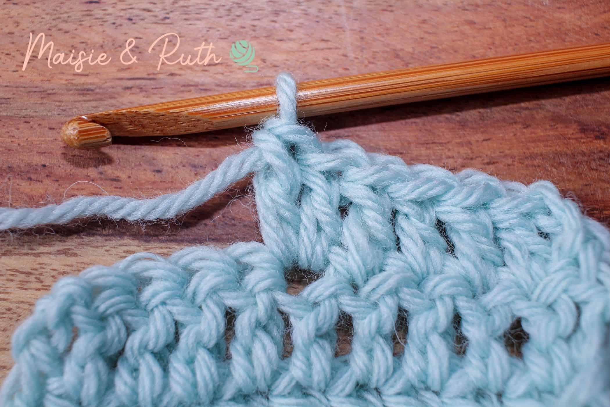 Crochet Increase Step 2