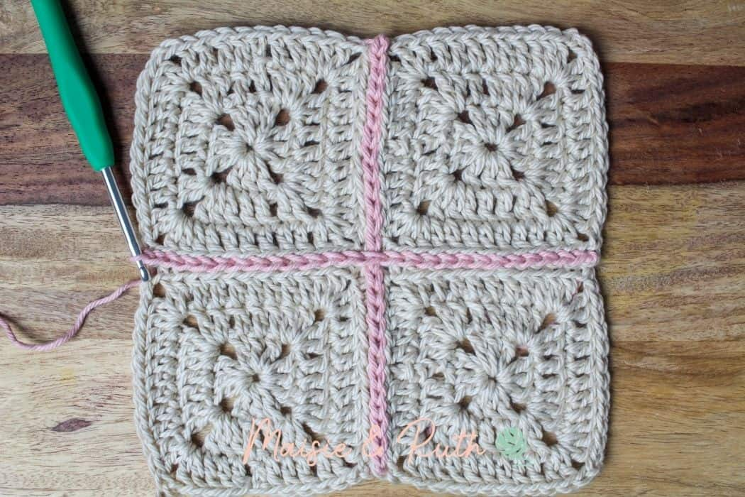 Join granny squares Final Image