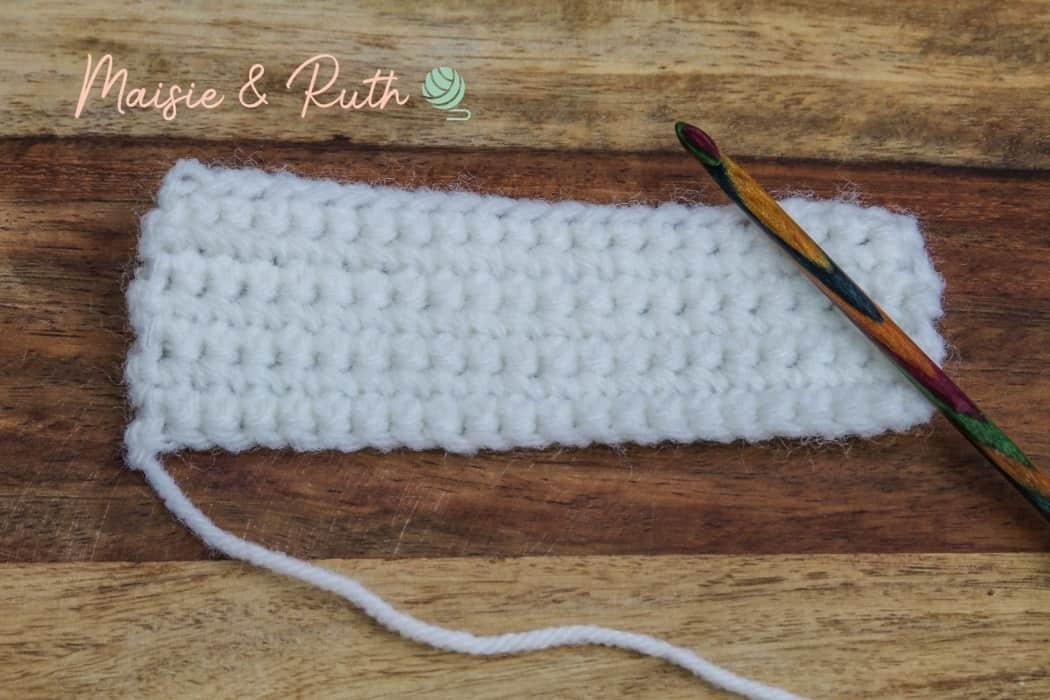 Crochet Bunny Teething Cover