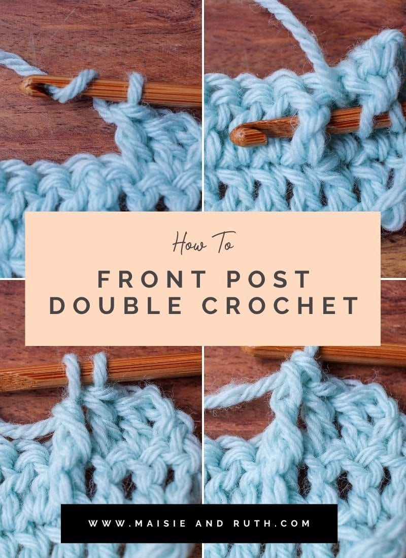 The Front Post Double Crochet (A Photo Tutorial)