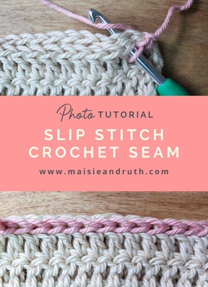 Slip Stitch Crochet Seam (A Photo Tutorial)