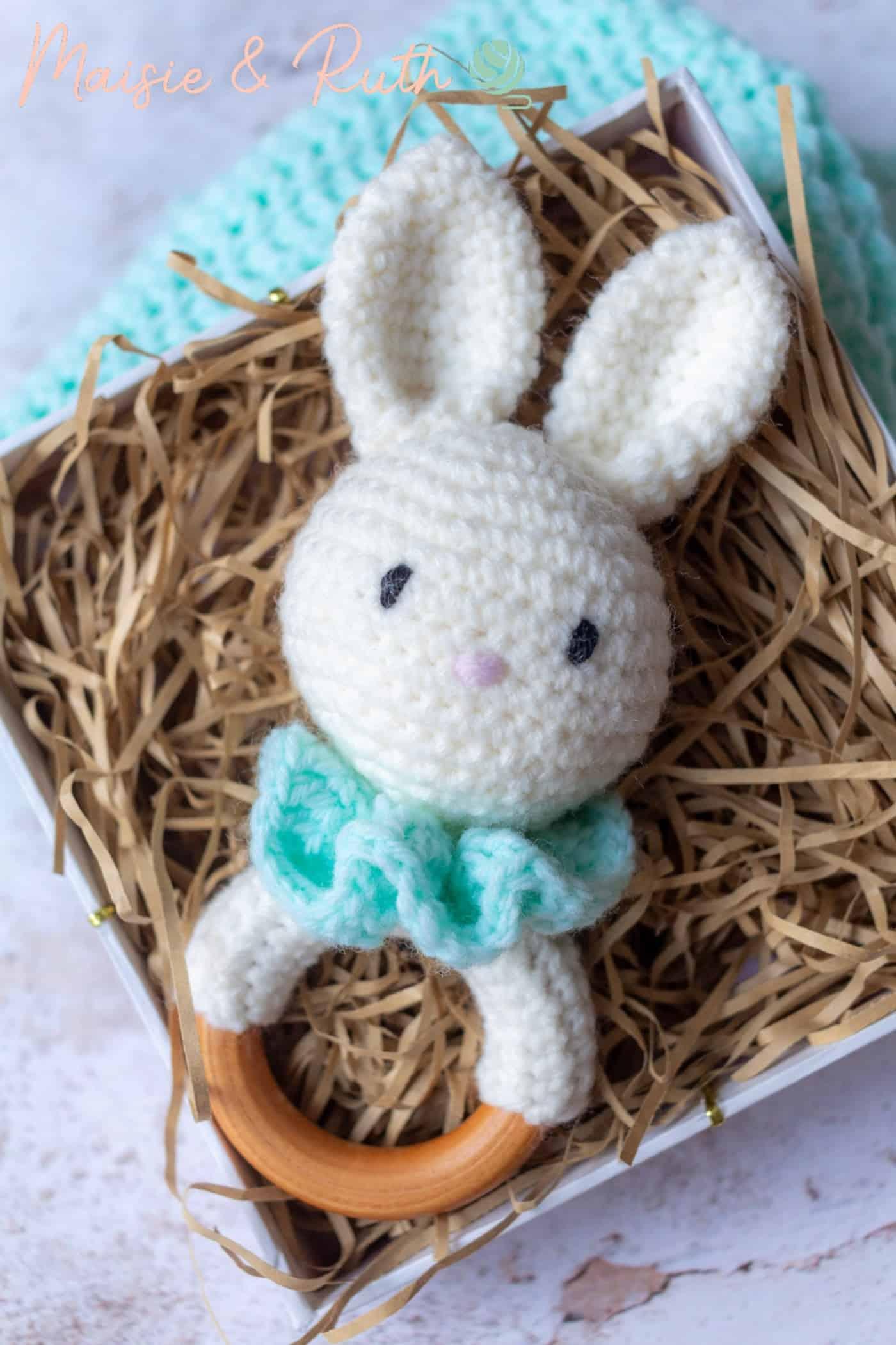 Free Crochet Amigurumi Pattern Bunny in Box