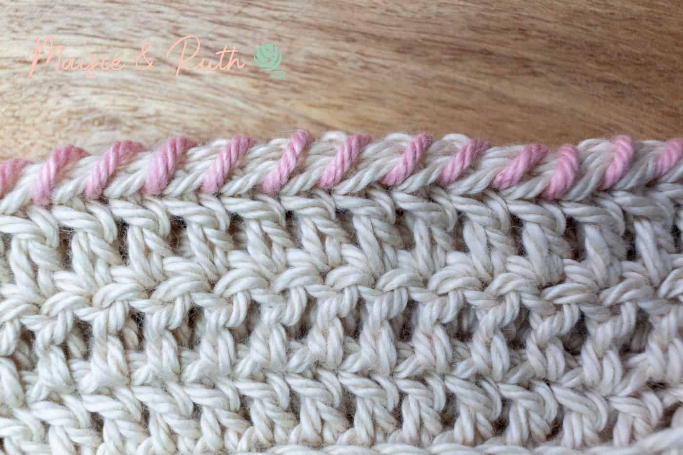 How to Whip Stitch Final Photo Close Up