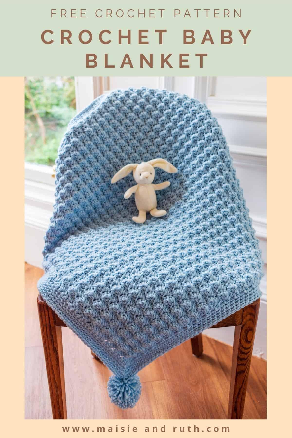 Ripple Stitch Blanket Pin 2