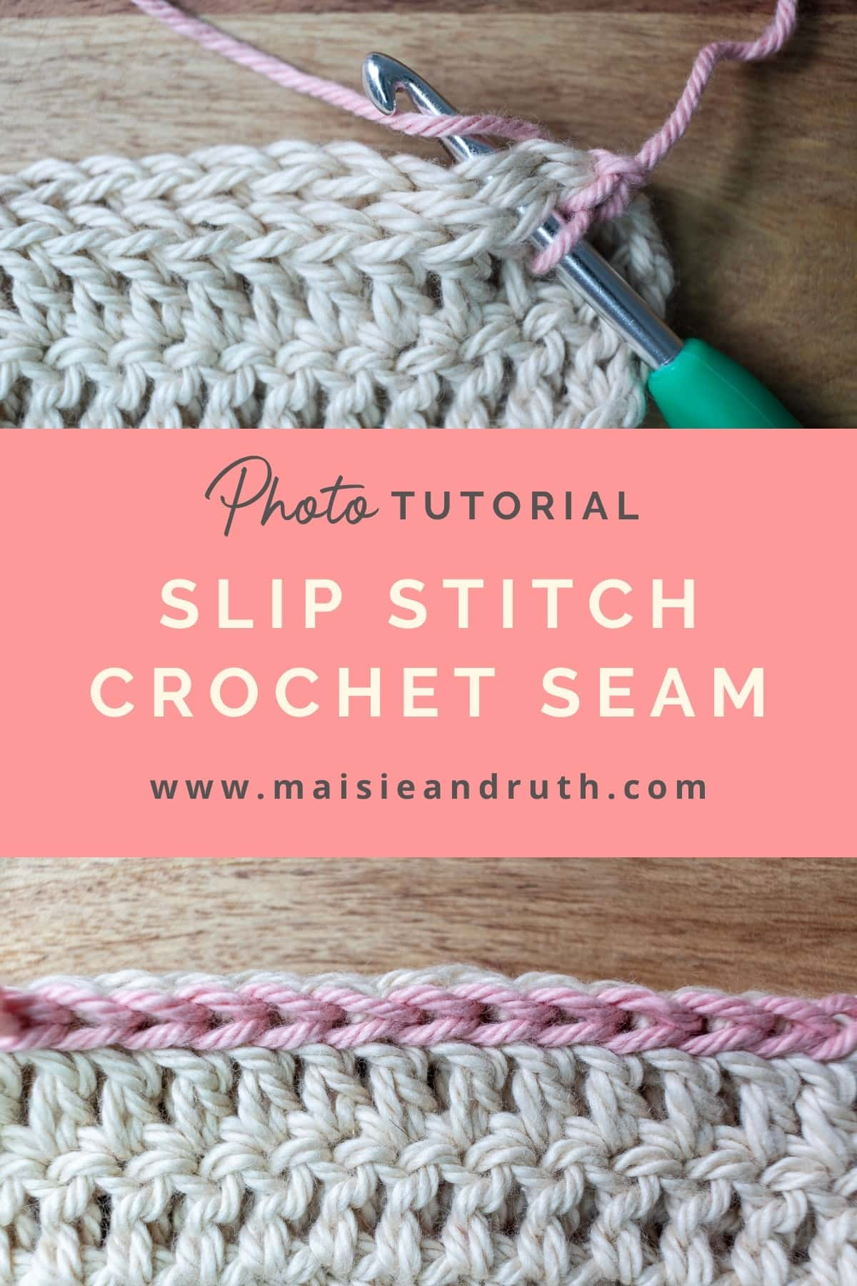 Slip Stitch Seam Pin No 1
