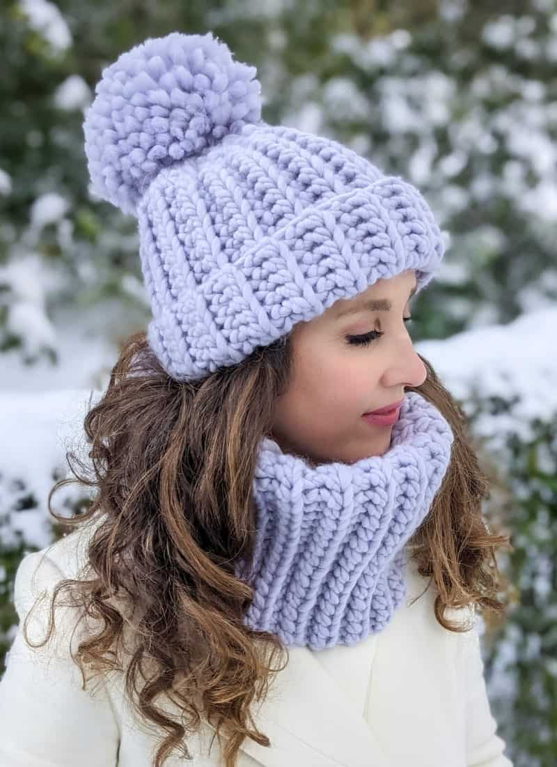Free Crochet Hat Pattern (The Caitlin Chunky Beanie)
