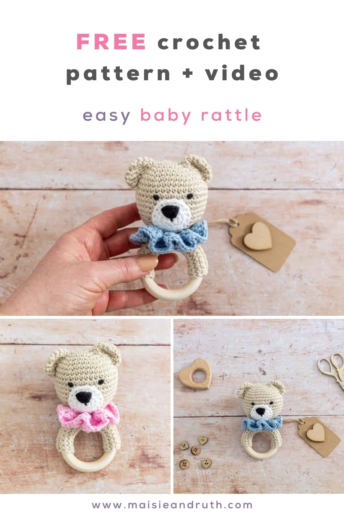 Pin for baby teether