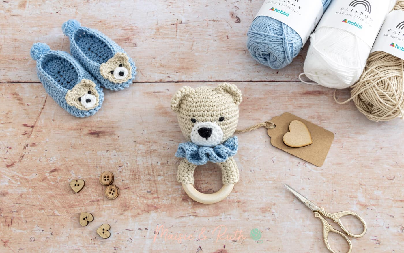 How to Crochet a Baby Rattle