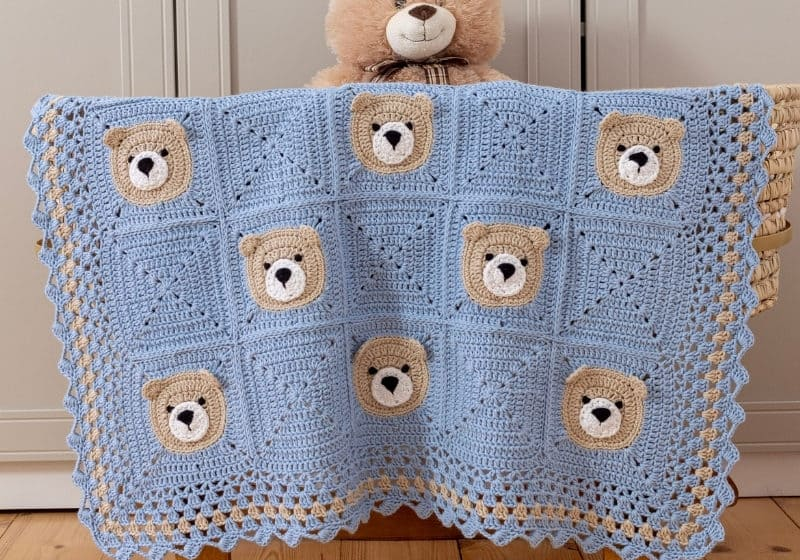 Featured Image Bear Baby Blanket